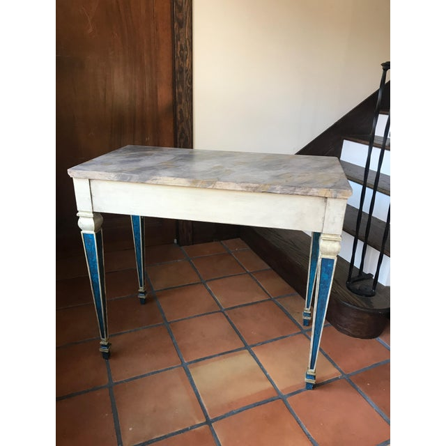 Painted 1920s Console Table - Image 10 of 10