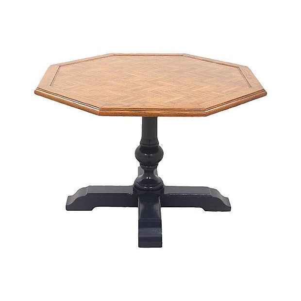 Neoclassical Paquetry Breakfast Table - Image 2 of 5