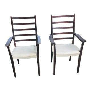 Svegard Markaryd Dining Armchairs Pair For Sale