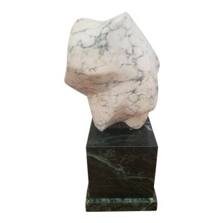 1986 Abstract Marble Sculpture For Sale