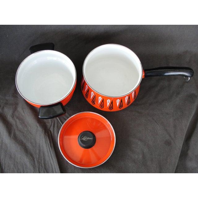 Cathrineholm Style Enameled Double Boiler - Image 4 of 8