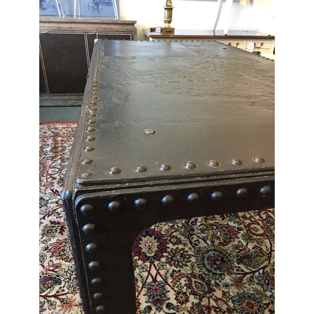 Vintage French Steel Tank Table - Image 4 of 11