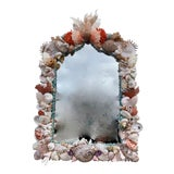 "Image of ""Rustica"" Shell-Encrusted Mirror For Sale"