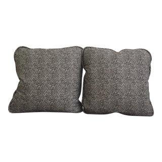 Custom Animal Print Pillows - A Pair For Sale