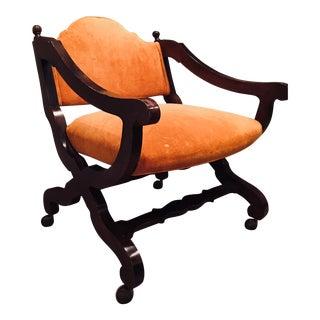 Mid Century Modern Corner Chair For Sale