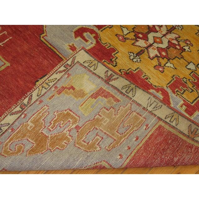 Vintage Tribal Design Gallery Rug - 4'2'' x 9'9'' For Sale - Image 5 of 6