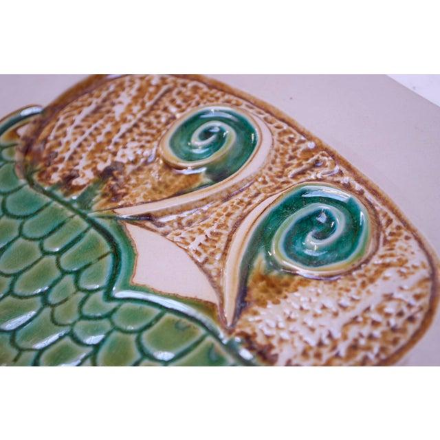 David Gil Mid-Century Owl Trivet / Wall Tile by David Gil for Bennington Potters For Sale - Image 4 of 11