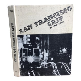 1969 Jimo Perini San Francisco Grip Book For Sale