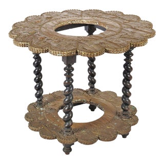 Antique side table in Renaissance style, 1880s For Sale