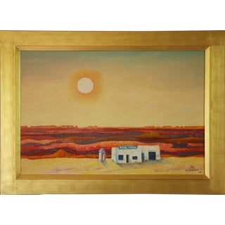 On the Edge of the Painted Desert by Emil Bisttram (1895-1976)