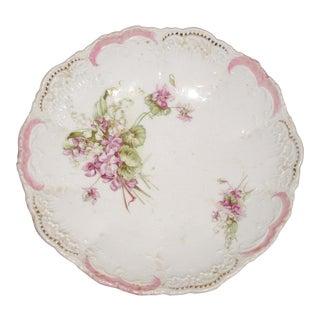 Early 20th Century Antique Bavarian Porcelain Serving Bowl