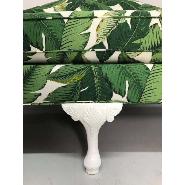 1940s 1940s Tropical Leaf Sofa For Sale - Image 5 of 7