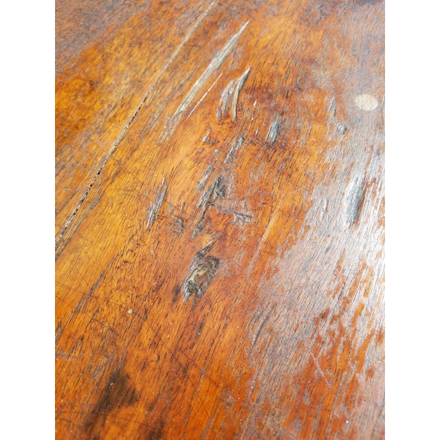 Antique French Farm Table - Image 6 of 8