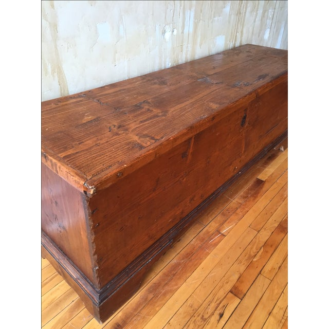 Tuscan Antique Trunk - Image 8 of 8