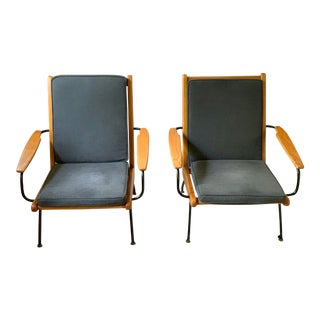 """Modern Christian Liaigre by for Holly Hunt Swivel """"Brousse"""" Chairs - a Pair For Sale"""