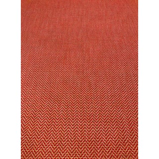 Schumacher Orwell - Modern Lipstick Red / Pink / Taupe Multipurpose Fabric - 3 Yards For Sale