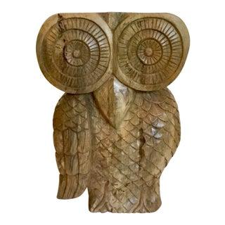 Boho Chic Arteriors Home Carved Owl Ora Stool