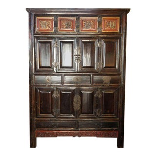 Chinese Qing Dynasty Storage Cabinet For Sale