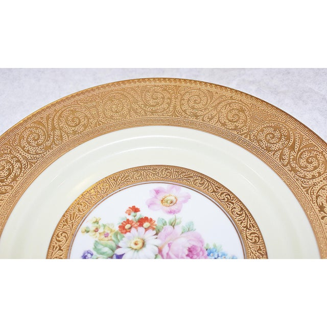 Baroque Gilt Bavarian Chargers - Set of 8 For Sale - Image 3 of 8