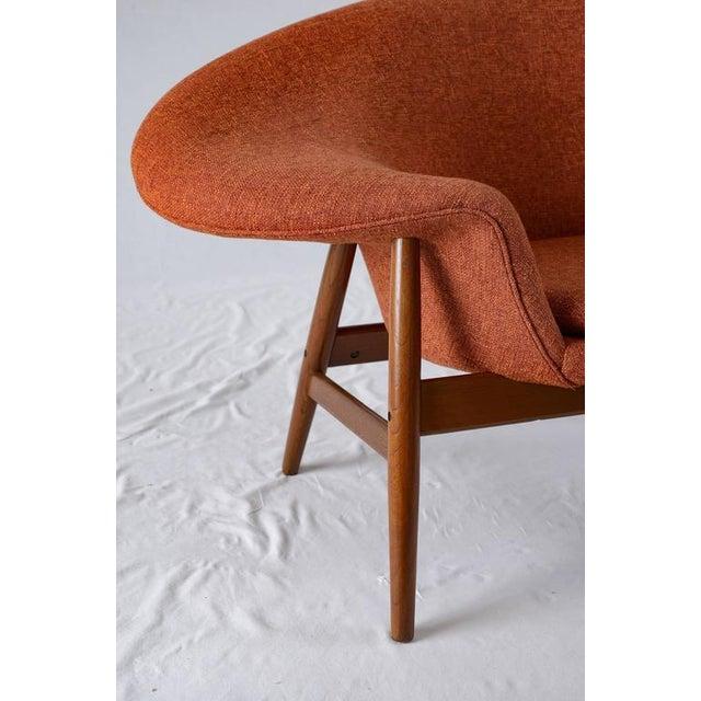 "Orange Hans Olsen ""Fried Egg"" Lounge Chair For Sale - Image 8 of 8"