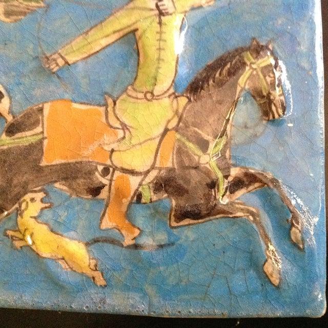Hanging Vintage Persian Tile - Image 5 of 6