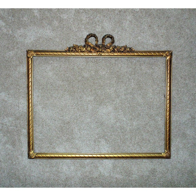 Late 19th Century 19th Century Victorian Picture Frame For Sale - Image 5 of 5