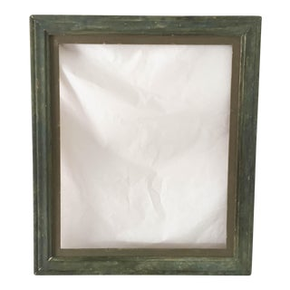 Antique Green Country Picture Frame