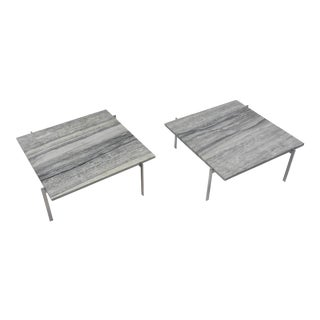 Pair of Pk 61 Cocktail Tables by Poul Kjaerholm for E. Kold Christensen, Denmark For Sale