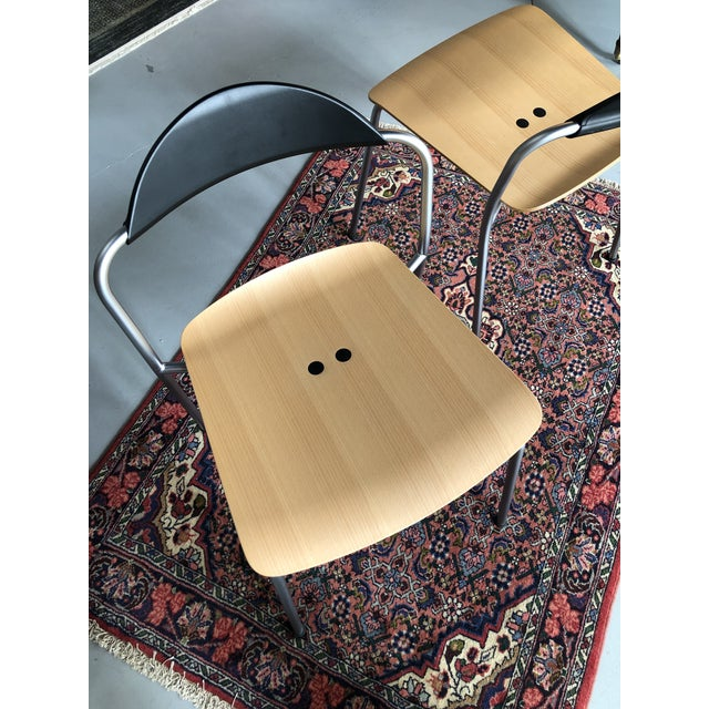 Knoll Knoll Vicosolo Chairs - a Pair For Sale - Image 4 of 7