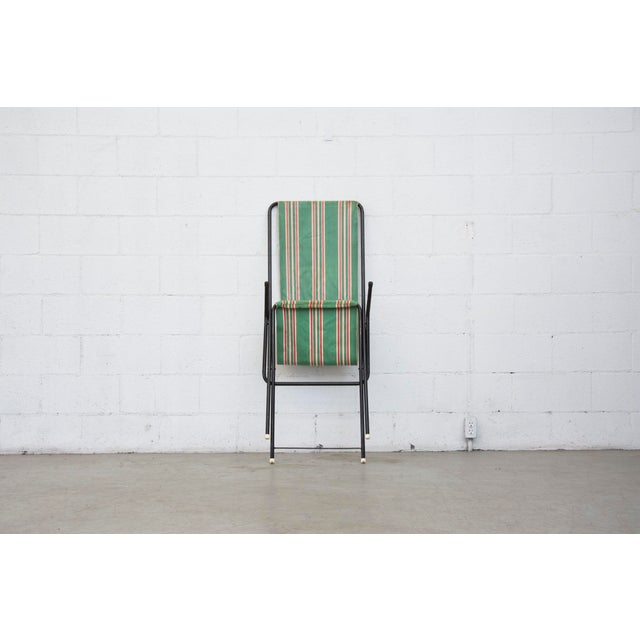 Vintage Pilastro Style Beach Sling Chair - Image 7 of 10