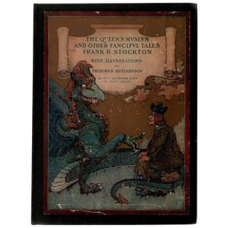 The Queen's Museum & Other Fanciful Tales, Illustrated Hardcover Book
