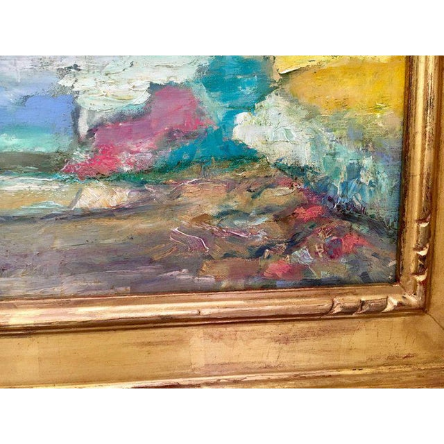 Jeffrey Leitz Original Signed Painting Connecticut Landscape Abtract For Sale In New York - Image 6 of 10