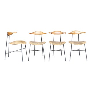 Arthur Umanoff Dining Chairs - Set of 4 For Sale