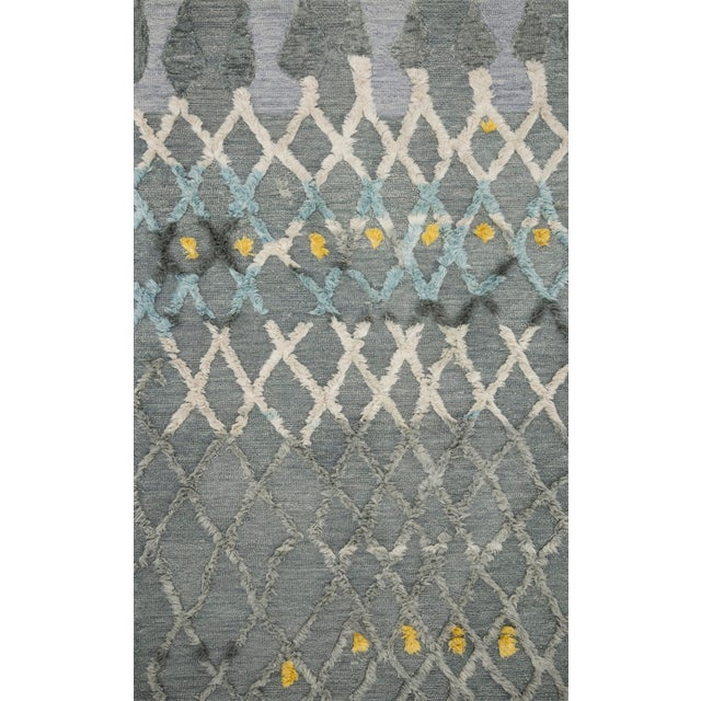 "Contemporary Loloi Rugs Symbology Rug, Grey / Multi - 9'3""x13' For Sale - Image 3 of 3"