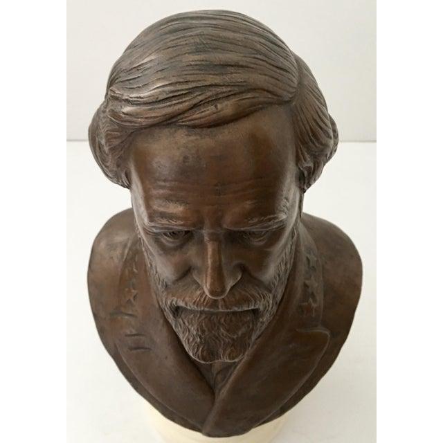 Vintage Ulysses S. Grant Bust Sculpture - Image 6 of 8