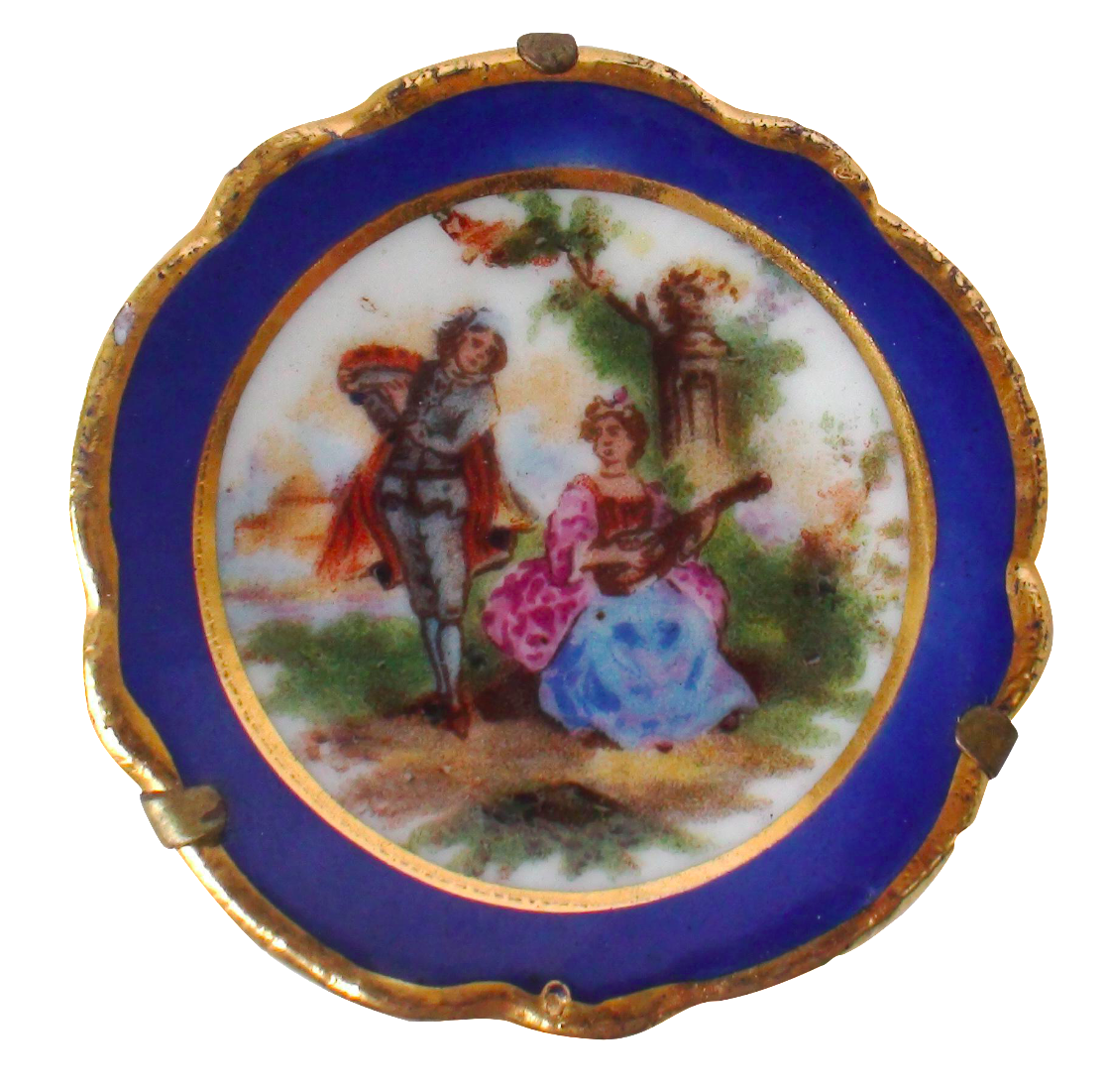 Limoges Miniature Lovers Plate  sc 1 st  Chairish & Vintage u0026 Used Rococo Decorative Plates | Chairish