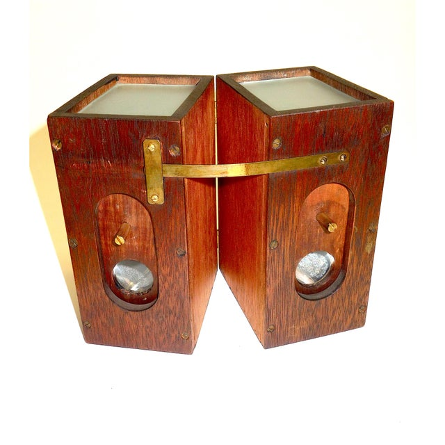 Vermeers Camera. A Circa 1920s Camera Obscura Invented by Anson K. Cross. Rare Hand Made Original For Sale - Image 12 of 12