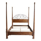 Image of Ethan Allen Old World Treasures Queen 4 Post Bed For Sale