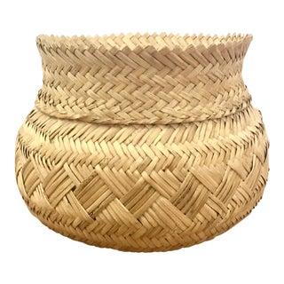 Handwoven Tarahumara Indian Basket
