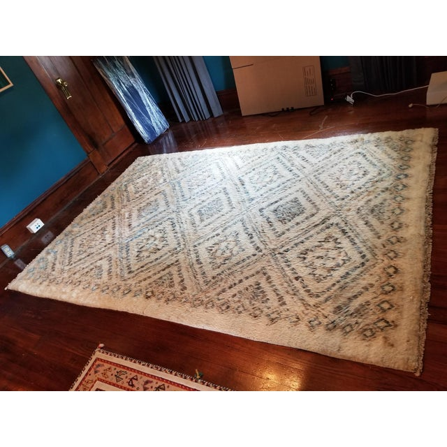 Moroccan Area Rug - 6′ × 8′11″ For Sale In Austin - Image 6 of 7