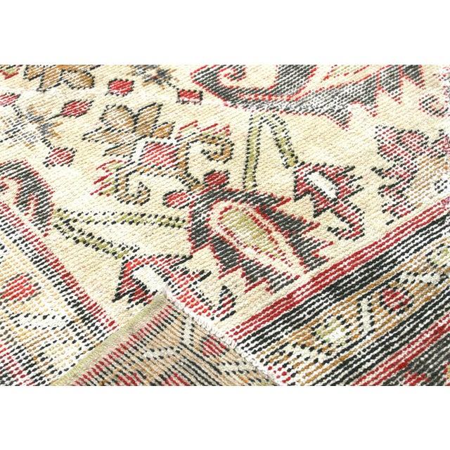 "1930s Persian Mahal Carpet - 9'6"" X 12'6"" For Sale - Image 4 of 7"