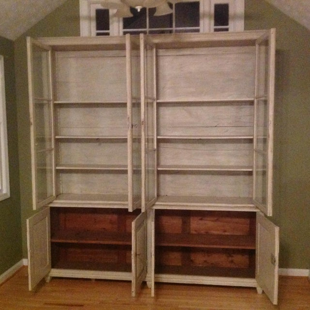 Gustavian Book Case Cabinet - Image 6 of 7