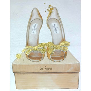 Modern Glitter Designer Fashion Shoes Canvas For Sale