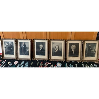 Framed American Presidential Portraits - Set of 24 Preview