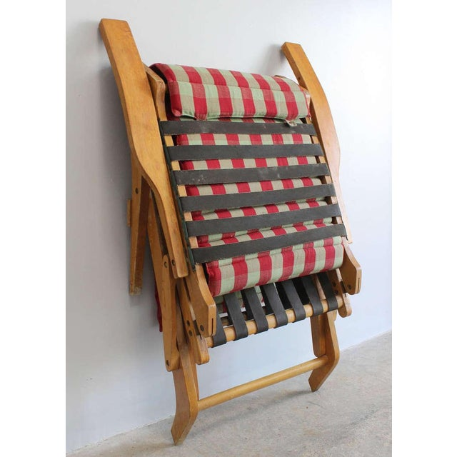 Wood Italian Chaise Lounge For Sale - Image 7 of 8