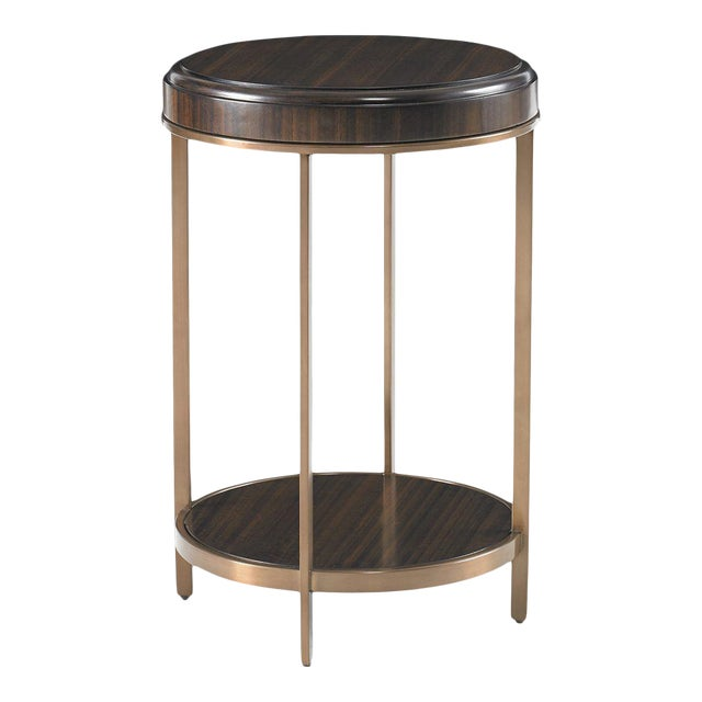 Capetown Round Accent Table from Kenneth Ludwig Chicago For Sale