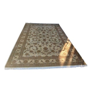 Oversized Hashan Hand-Knotted Wool Area Rug From China 11′7″ × 17′8″