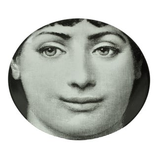 Piero Fornasetti Plate # 235 Made in Italy For Sale
