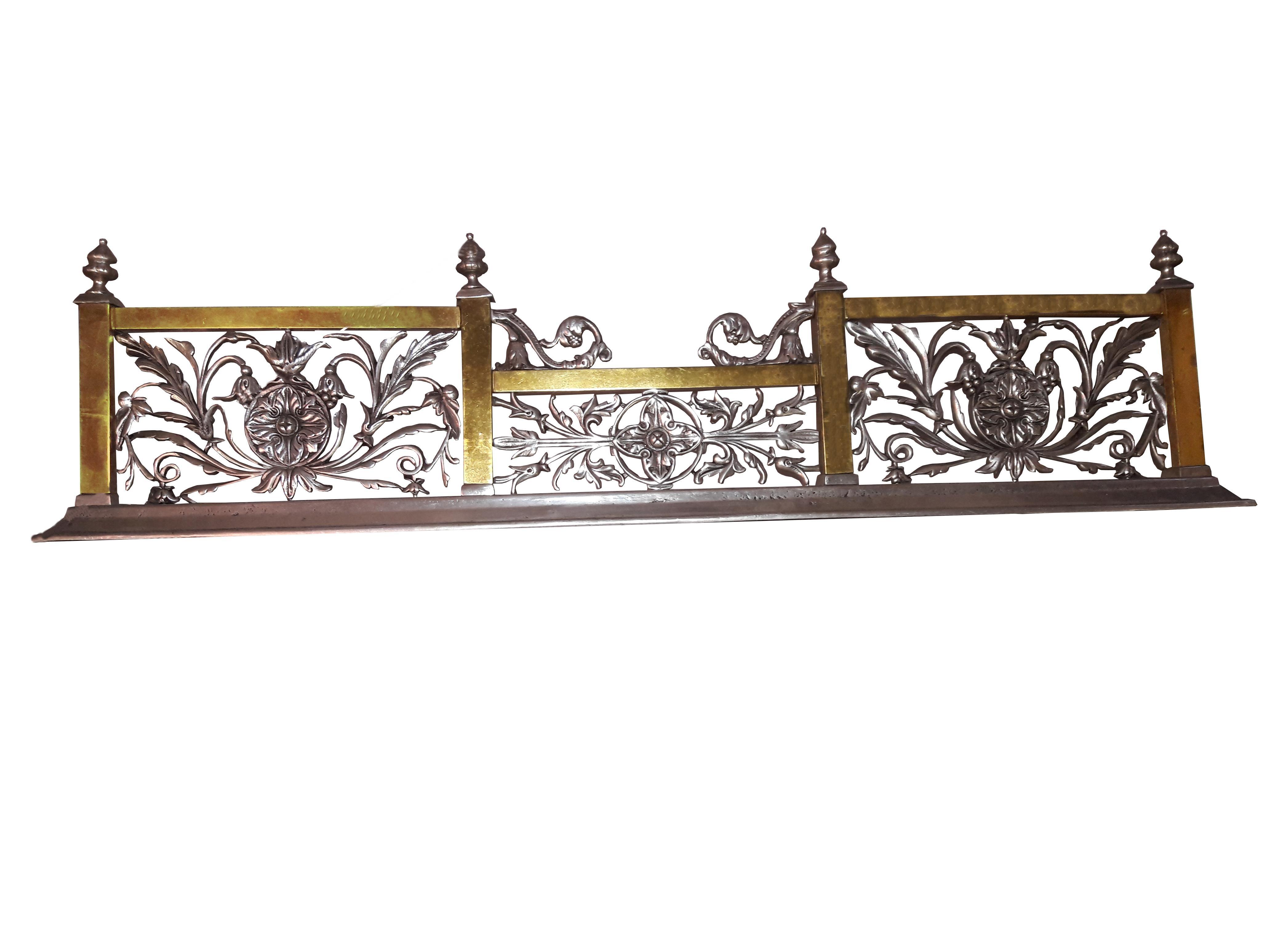 Art Nouveau Art Nouveau Style Fireplace Surround Bench Fender Architectural  Wall Shelf For Sale   Image