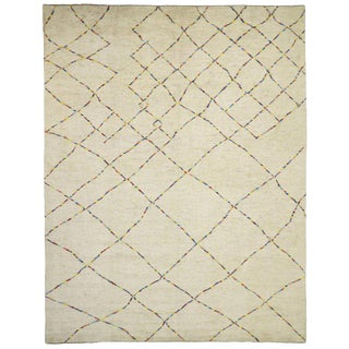 Contemporary Moroccan Style Rug - 12′4″ × 15′8″ For Sale